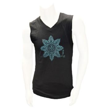 Heart Chakra Sleeveless V Neck Image